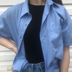 Oversized Button Down Shirt